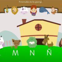 La Isla de las letras: Animales de la granja