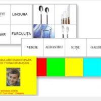 Vocabulario básico para niños y niñas rumanos