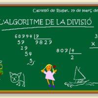El algoritmo de la división