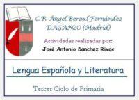 Lengua española y literatura 5º de Primaria