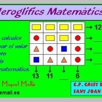 Jeroglíficos matemáticos