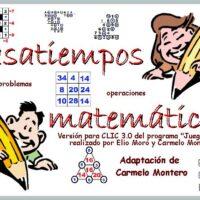 Pasatiempos matemáticos