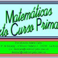 Matemáticas – 6º