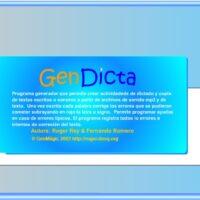 Generador de Dictados I