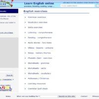 Ejercicios de Inglés