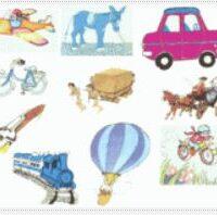 Los medios de transporte I