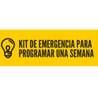 Kit de emergencia para programar una semana