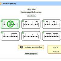 Test de ritmos sencillo