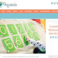 6 Actividades Montessori para niños de 2 años
