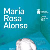 Guías/Orientaciones/Recursos/Experiencias, Personalidades Propuesta didáctica: María Rosa Alonso. Día de las Letras Canarias 2010.