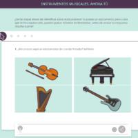 Ahora tú. Instrumentos musicales
