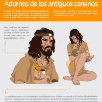 Adornos y accesorios de los antiguos canarios