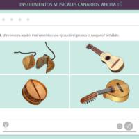 Instrumentos musicales canarios. Ahora tú