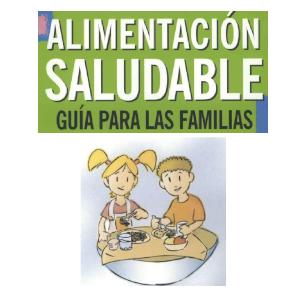 Guía alimentación saludable para las familias