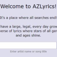 AZlyrics