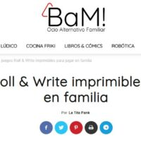Roll & Write imprimibles