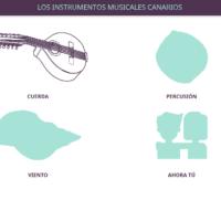 Los instrumentos musicales canarios