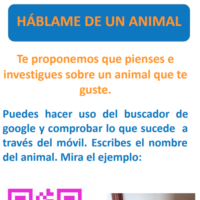 Háblame de un animal