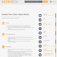 Crea tu propia Astro-Música