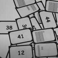 Tarjetas y números
