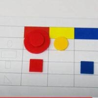 Tabla doble entrada con bloques