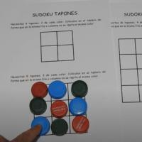 Sudoku con tapones