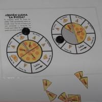 Llena la piza