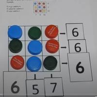 Tapones, sumas y ecuaciones