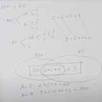Algoritmos mcm y mcd