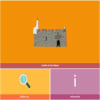 HTML5: Castillo de San Miguel