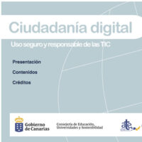 Ciudadanía Digital: uso seguro y responsable de las tecnologías