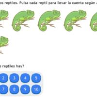 IXL Ejercicos de matemáticas para Infantil