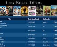 Films français avec sous-titres
