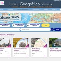 EducaIGN. La web de Recursos Educativos del Instituto Geográfico Nacional (IGN)