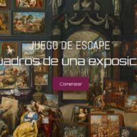 Juego de escape: Cuadros de una exposición