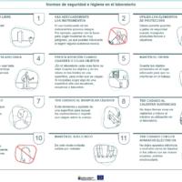 Normas de seguridad e higiene en el laboratorio