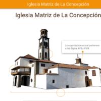 HTML5: Iglesia matriz de La Concepción, Sta. Cruz de Tenerife