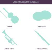 Familias. Instrumentos musicales