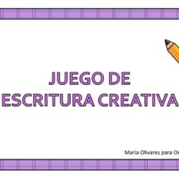 Juego de escritura creativa
