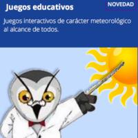 Juegos educativos meteorológicos