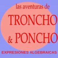 Las aventuras de Troncho y Poncho: Expresiones algebraicas