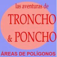 Las aventuras de Troncho y Poncho: Áreas de polígonos