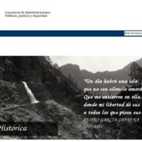 Web institucional de Memoria Histórica del Gobierno de Canarias