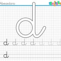 Fichas para trazar las primeras letras