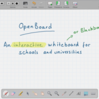 OpenBoard, pizarra interactiva