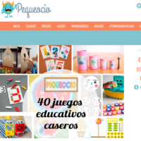 40 Juegos educativos caseros_pequeocio