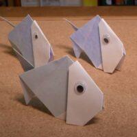 Aprende a hacer un pez de origami