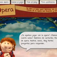 Jugando con la ópera