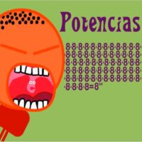 Las aventuras de Troncho y Poncho: potencias