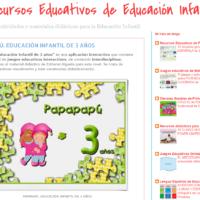 Recursos Educativos de Educación Infantil